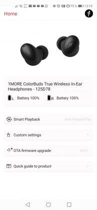 1MORE True Wireless ANC Screenshot_20200811_131952_com.onemore.life