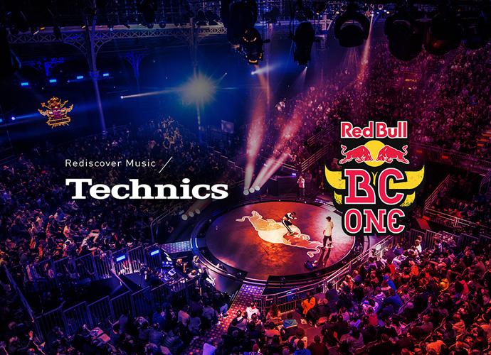 Technics Red Bull BC One