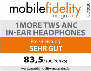 Testsiegel 1MORE True Wireless ANC In-Ear Headphones