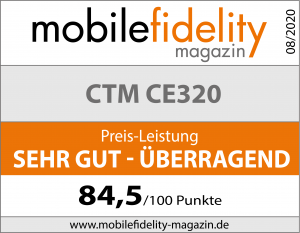 Testsiegel CTM CE320