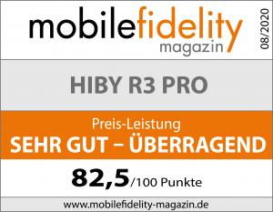 Testsiegel HiBy R3 Pro (neu)