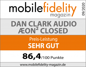 Testsiegel Dan Clark Audio ÆON² closed