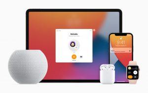 Apple HomePod mini iPad-iPhone-applewatch-airpods_10132020