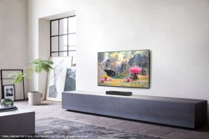 Panasonic Gaming-Lautsprecher Panasonic Sound Slayer HTB01 Lifestyle-Living-room_1500x999
