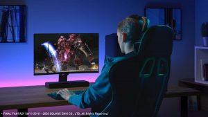 Panasonic Gaming-Lautsprecher Panasonic Sound Slayer HTB01 -Lifestyle-gameplay-01_1500x843