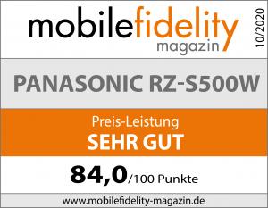 Testsiegel Panasonic RZ-S500W