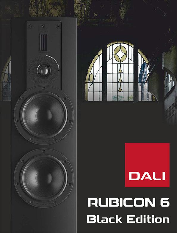 DALI Rubicon 6 Black Edition