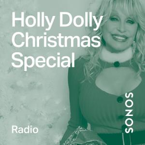 Sonos Radio HD Holly Dolly Christmas Special Album Cover