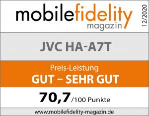 Testsiegel JVC HA-A7T