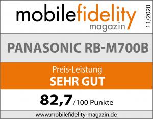 Testsiegel Panasonic RB-M700B