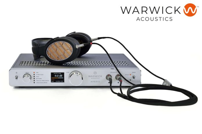 Warwick Acoustics APERIO-Referenz-System zum Aktionspreis erhältlich